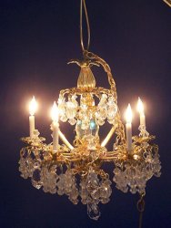 Sun King Crystal Chandelier