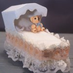Baby's antique cradle