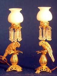 Parrot Buffet Lamps