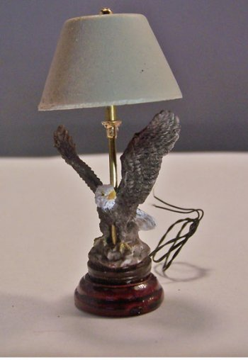Bald Headed Eagle Lamp