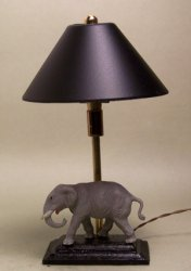 African Elephant Lamp