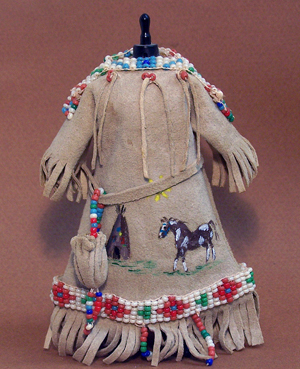 Beaded Buckskin Dress