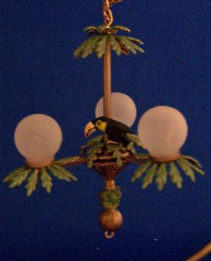 Palm tree chandelier 580 7800 wren song miniatures palm tree chandelier aloadofball Choice Image